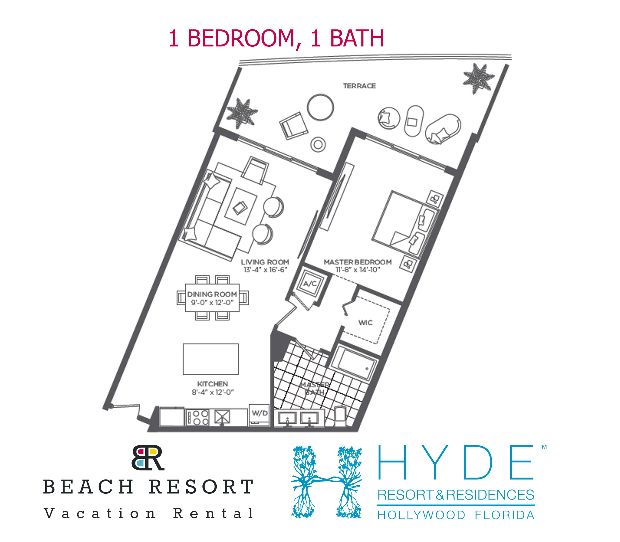 HYDE RESORT 1 BED