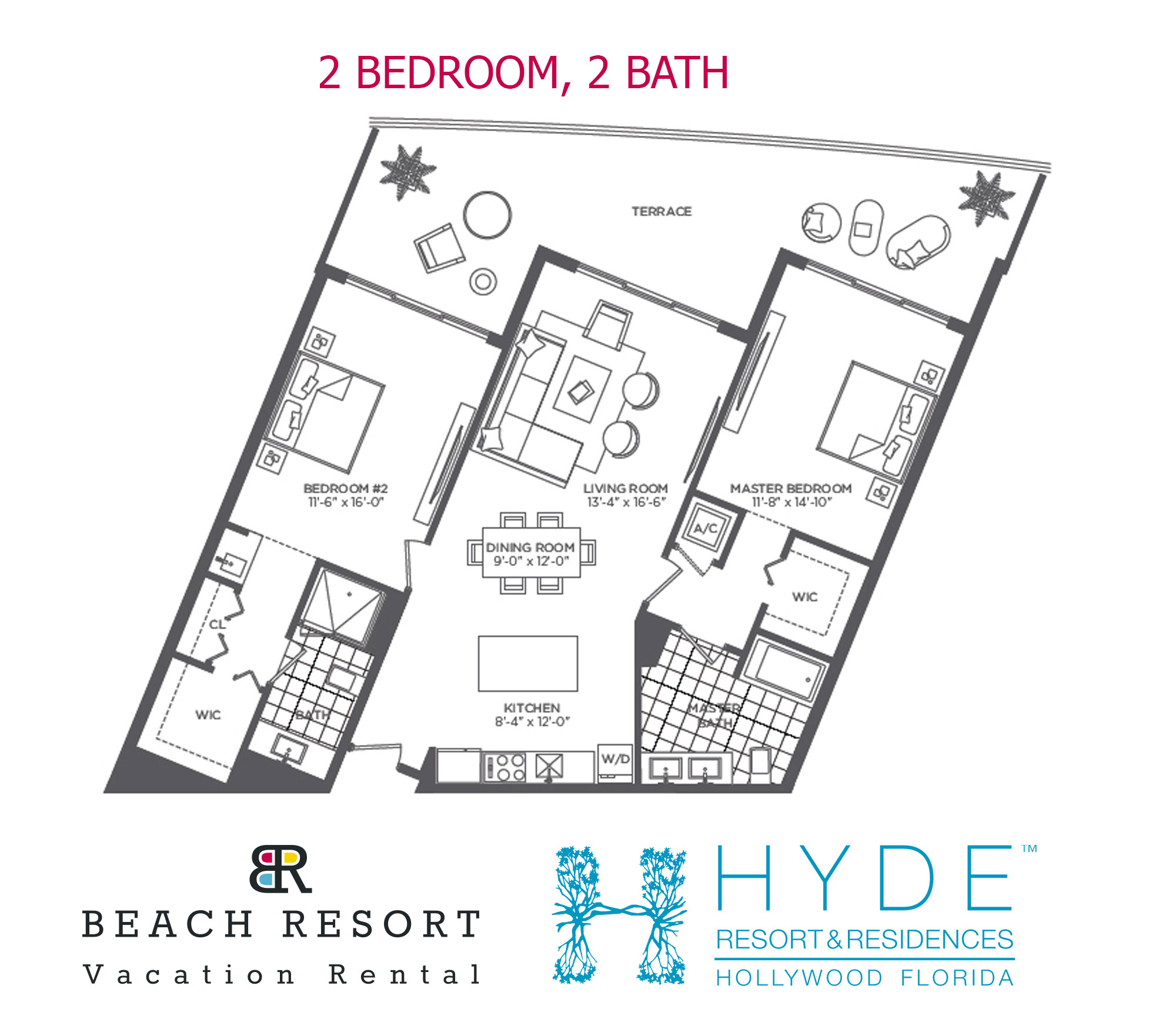 HYDE RESORT 2 BED